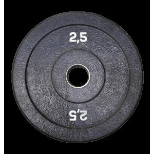 Диск 2,5 кг бамперный для кроссфита, ТА и тренировок