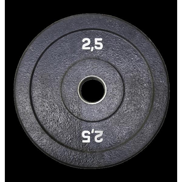 Диск бамперный 2,5 кг