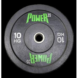 Диск 10 кг бамперный для кроссфита, ТА и тренировок