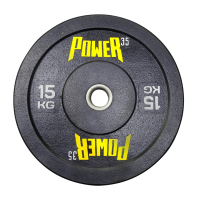 Диск 15 кг бамперный для кроссфита, ТА и тренировок