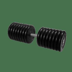 Гантель неразборная черная 81 кг